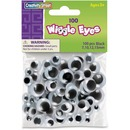 Creativity Street 100-piece Assorted Size Wiggle Eyes