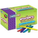 Creativity Street Bright Hues Wood Craft Sticks