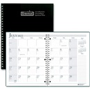 House of Doolittle Black Cover Academic Monthly Planner
