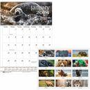 House of Doolittle Earthscapes Wildlife Midsz Wall Calendar