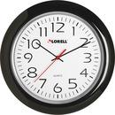 "Lorell 13-1/4"" Round Quartz Wall Clock"