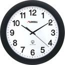 "Lorell 12"" Round Radio Controlled Wall Clock"