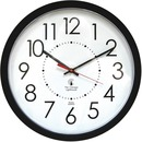 "Chicago Lighthouse 14.5"" Black Electric Wall Clock"