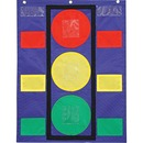 Carson-Dellosa Colorful Pocket Stoplight Chart