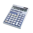 Sharp Executive Desktop Calculator - 12 Character(s) - LCD - Solar, Battery Powered - 7.88