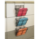 Safco PanelMate Triple File Basket