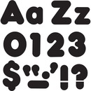 "Trend Black 4"" Casual Combo Ready Letters Set"