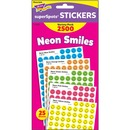 Trend superSpots Neon Smiles Stickers Variety Pack