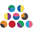 Rainbow Fraction Deluxe Circles Set