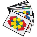 Learning Resources Pattern Block Activity Cards