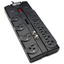 Tripp Lite Surge Protector 12 Outlet 120V RJ11 Coax 8' Cord 2880 Joule