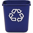 Rubbermaid Commercial Blue Deskside Recycling Container