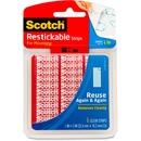 Scotch Restickable Clear Strips