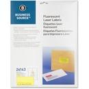 "Business Source 2"" Fluorescent Color Laser Labels"