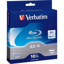 BD-R 25GB 16X with Branded Surface - 10pk Spindle Box