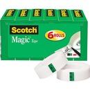 """Scotch® Magic™ Tape, 3/4"""" x 1,000"""", 6 Boxes/Pack, 1"""" Core"""