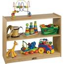 ECR4KIDS 2-shelf Open Storage Cabinet