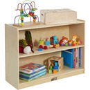 ECR4KIDS Birch 2-shelf Storage Cabinet