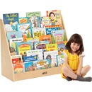 ECR4KIDS Birch Single-sided Book Display