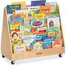 ECR4KIDS Birch Double-sided Book Display