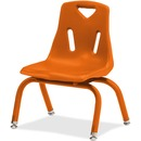 Jonti-Craft Berries Plastic Chair with Powder Coated Legs