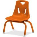 Jonti-Craft Berries Plastic Chair with Powder Coated Legs