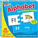 Trend Alphabet Fun-to-Know Puzzles