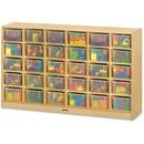 Jonti-Craft 30 Cubbie-trays Mobile Storage Unit