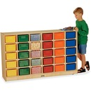 Jonti-Craft 30 Cubbie Mobile Storage