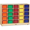 Jonti-Craft 25 Cubbie-trays Mobile Storage Unit
