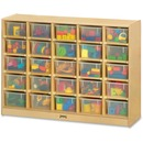 Jonti-Craft 25 Cubbie-trays Mobile Storage Unit