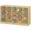 Jonti-Craft 20 Cubbie-tray Mobile Storage Unit