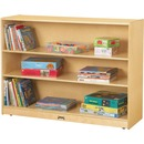 Jonti-Craft 3-Shelf Light-duty Storage Bookcase