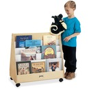 Jonti-Craft Double Sided Mobile Pick-a-Book Stand