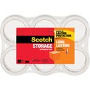 Scotch® Long Lasting Storage Packaging Tape- 6 pack