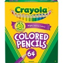 Crayola 64 Count Colored Pencils, Short
