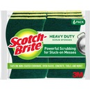 SPONGE,HEAVY DUTY,6/PACK