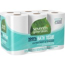 Bathroom Tissue, Recycled, 2-Ply, 240 Sheets, 12 Roll/Pack, White