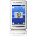 Sony Mobile Communications XPERIA X8 Smartphone - Wi-Fi - 3.5G - Bar - White - SIM-free - Android 1.6 Donut - 3