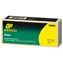 OP Brand Adhesive Note Pad