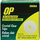 OP Brand Crystal Clear Tape