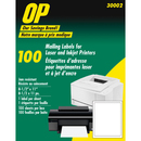 OP Brand Mailing Label