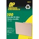 OP Brand Reversible File Folder