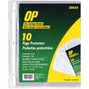 OP Brand Sheet Protector