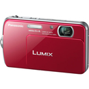 Panasonic Lumix DMC-FP7 16.1 Megapixel Compact Camera - Red - 3.5