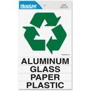 Headline U.S. Stamp & Sign Self-stick Recycle Decal Sign