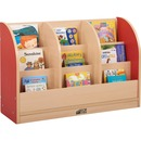 ECR4KIDS Toddler 1-side Maple Book Stand