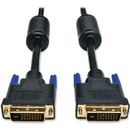Tripp Lite 6ft DVI Dual Link Digital TMDS Monitor Cable Shielded DVI-D M/M 6'