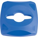Rubbermaid Commercial Square Recycling Container Combo Lid