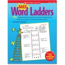 Scholastic Grade 1-2 Daily Word Ladders Workbook Education Printed Book - English